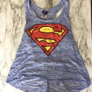 Dc Comics Superman Razorback Tank top. Size M